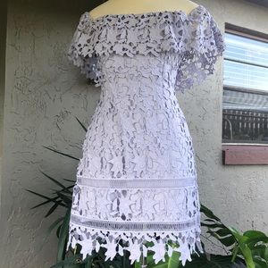ASTR The Label Lilac Lace Dress